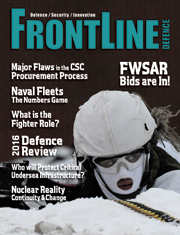 Frontline Defence Cover Issue 1 - 2016