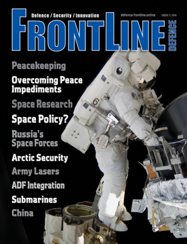 Frontline Defence Cover Issue 5 - 2016