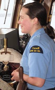 CCG offers great choices for women interested in a maritime career.