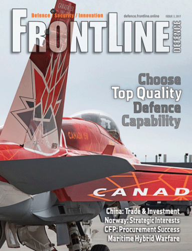 Frontline Defence Cover Issue 2 - 2017