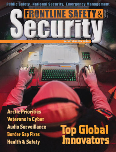 Frontline Security Cover Issue 1 - 2019