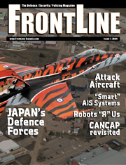 Frontline Defence Cover Issue 1 - 2004