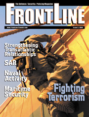 Frontline Defence Cover Issue 3 - 2004