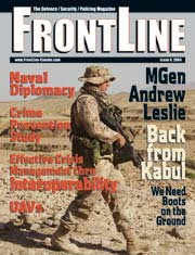 Frontline Defence Cover Issue 4 - 2004
