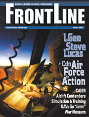 Frontline Defence Cover Issue 3 - 2005