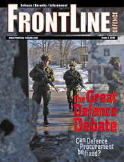 Frontline Defence Cover Issue 1 - 2006