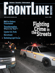 Frontline Defence Cover Issue 3 - 2006