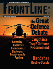 Frontline Defence Cover Issue 1 - 2008