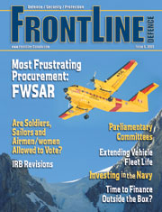 Frontline Defence Cover Issue 6 - 2009