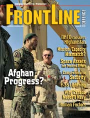 Frontline Defence Cover Issue 6 - 2010
