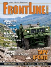 Frontline Defence Cover Issue 3 - 2011