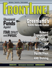Frontline Defence Cover Issue 1 - 2012