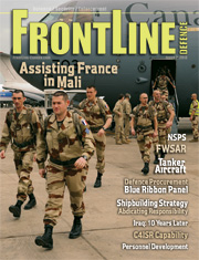 Frontline Defence Cover Issue 2 - 2013