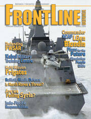 Frontline Defence Cover Issue 3 - 2013
