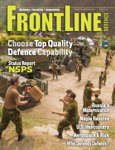 Frontline Defence Cover Issue 3 - 2015