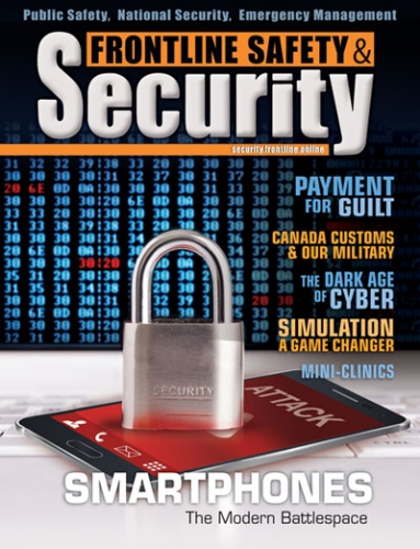 Frontline Security Cover Issue 1 - 2018
