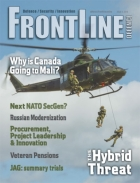 Frontline Defence Cover Issue 3 - 2018
